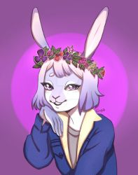 Adorable Rabbit Commission by LilyaSadovaya