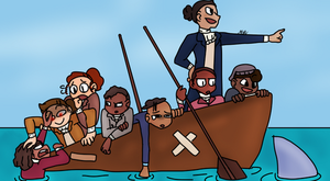 Hamilsquad On a Boat by MistyTheRabbit