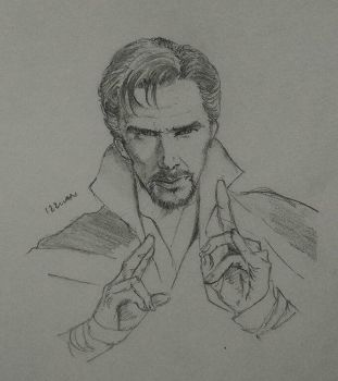 doctor strange by izzwanable
