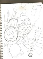 King dedede for brawl by OniRocu