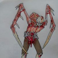 Dead Space Necromorph by luckless1990