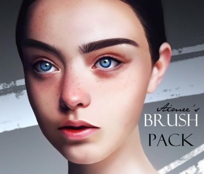 MY *UPDATED* BRUSH PACK! by AimsR