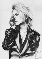 Ruki The Gazette by maya-Notliketheother