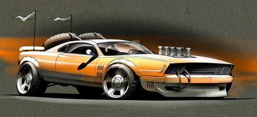 Off Road Muscle by RuncimanConcepts