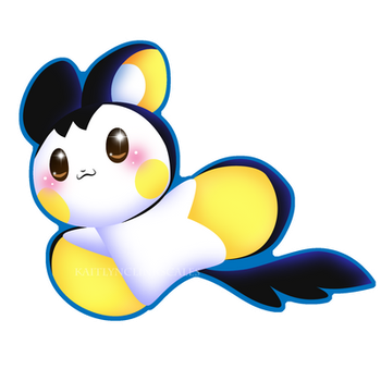 Emolga by Clinkorz