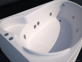 Bathtub modeling and rendering by car2ner