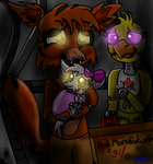 Foxy meet your baby sister by Dylan-the-dude