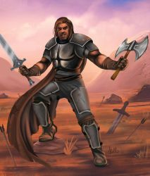 Conscripted Barbarian by Christopher-Stoll