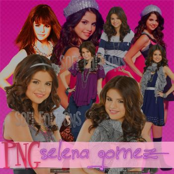 Pack Selena Gomez png by SofiHechos