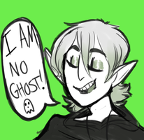 I Am No Ghost! by Icacus