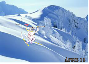 Skiing by The-APSIS
