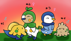 Shroomish Piplup Clutch by Megatraven
