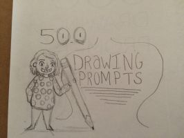 500 drawing prompts by babybee1