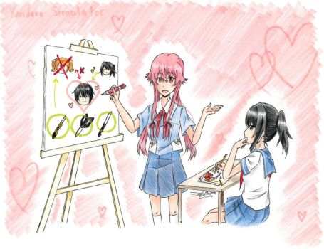 How to be Yandere by Kamikoroshu