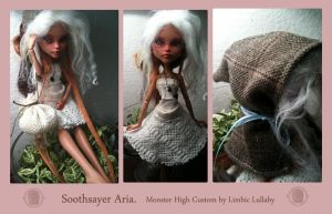 Aria Monster High Custom by limbiclullaby