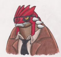 Commissioner Groudon