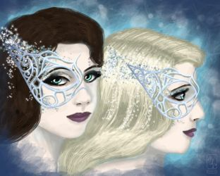 Ice Queens by ajpenrose