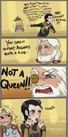 The Queen Of Asgard by LavvytheJackalope