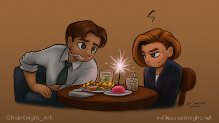 I didn't know it was your birthday, Scully. by souldreamx