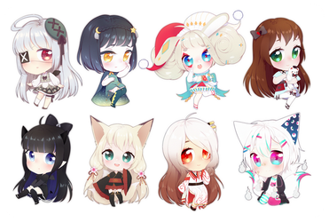 tiny chibi batch [1] by beescuit