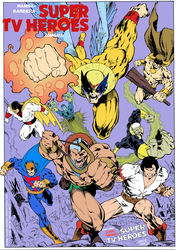 HANNA BARBERA SUPER HEROES by CarlosMota