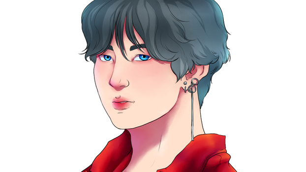 Bts V // DNA by Ladykiss97