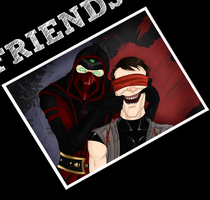 FRIENDS - Kenshi and Ermac by Shaiger