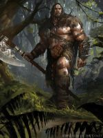 Garruk Relentless - Magic the Gathering by 88grzes