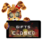 PC - Funtime Pixell Gifts Closed Stamp by BlueBismuth