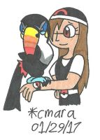 'You met my Toucannon?'