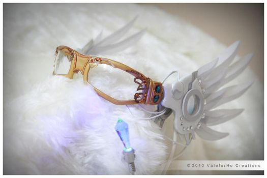 Vocaloid Rin Girl Glasses by ValeforHo