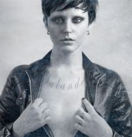 The Girl With The Dragon Tattoo by Anesthetic-X