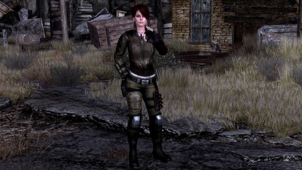 Fallout New Vegas - Marissa (Tweed) Ronson Outfit by lsquall