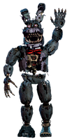Nightmare Bonnie full body *thank you image* by JoltGametravel