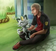 Pokemon - Nanu Meowth