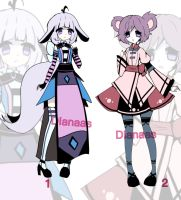 Kemonomini adoptable Closed by Diana-AS