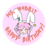 Gift for Ms. Wabbit by KuroMadicchi