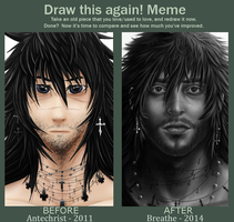 Draw it again Breathe by Hax-Makina