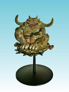 Great Unclean One on Flying Disc by Nergling
