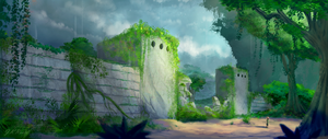 Jungle Fort by JKRoots