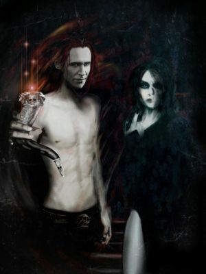 Loki and Hel. by Tal-Conhae