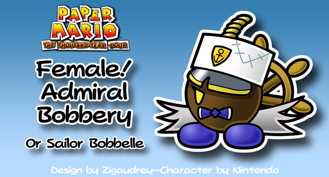 Female!Admiral Bobbery by zigaudrey
