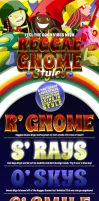 REGGAE GNOMES: Layer Styles by CauseThought