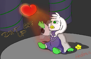 QUICK ART - Don't give up by Hedenus
