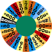 Round 1 wheel - January 1975 by wheelgenius