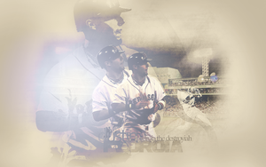 Dustin Pedroia by see-jay-tee