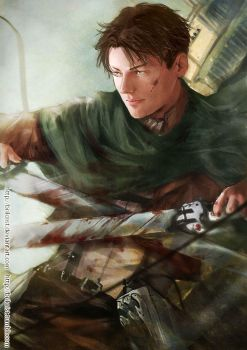 Lance Corporal Levi by Brilcrist