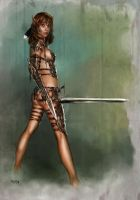 Fighting Queen _INA 1 by tariq12