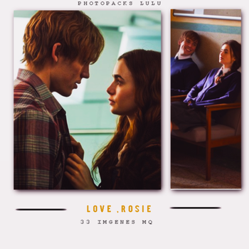 Photopack Love Rosie by PhotopacksLulu