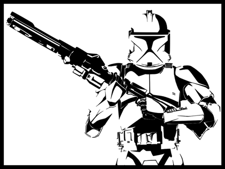 Clone Trooper Inked by ricosuave413